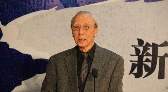 中国油画学会主席、中国国家画院油画院院长詹建俊在发布会上致辞