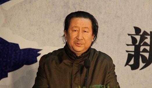 中国国家画院院长杨晓阳在发布会上致辞